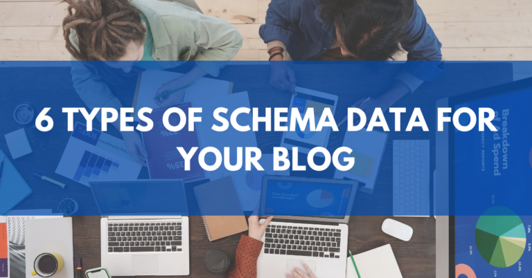 6 Schema Data Types For Your Blog